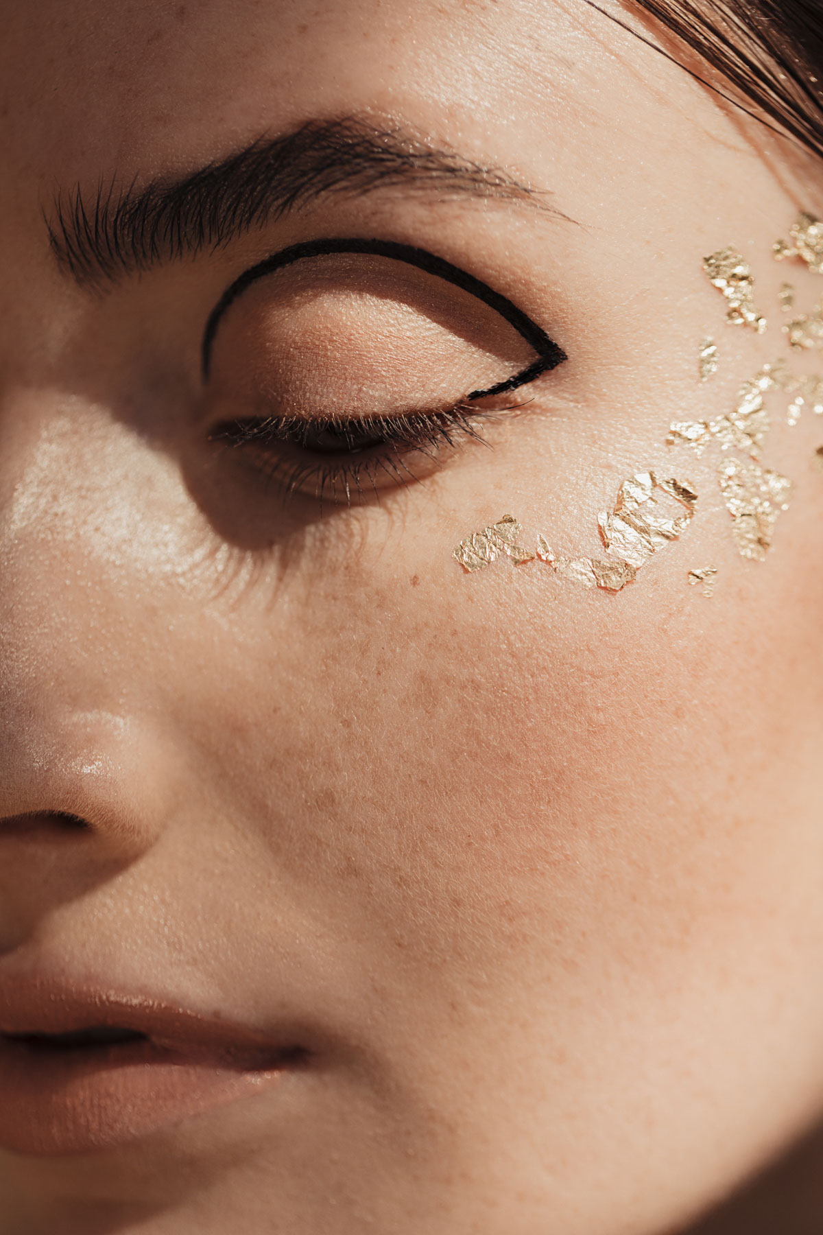 Stay Gold – Beauty Project – Christel Thoresen – Hair and Make-Up Artist