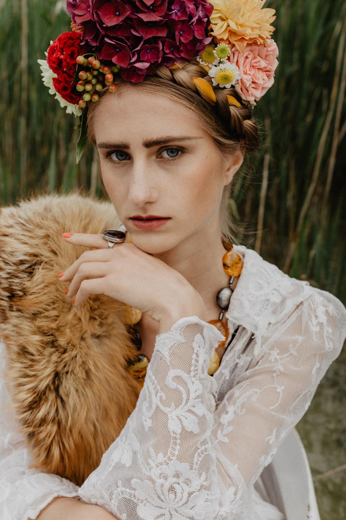 Frida Kahlo – Beauty Project – Christel Thoresen – Hair and Make-Up Artist