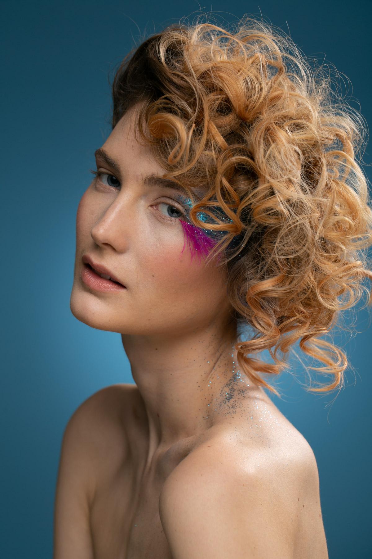 Elena – Beauty Project – Christel Thoresen – Hair and Make-Up Artist