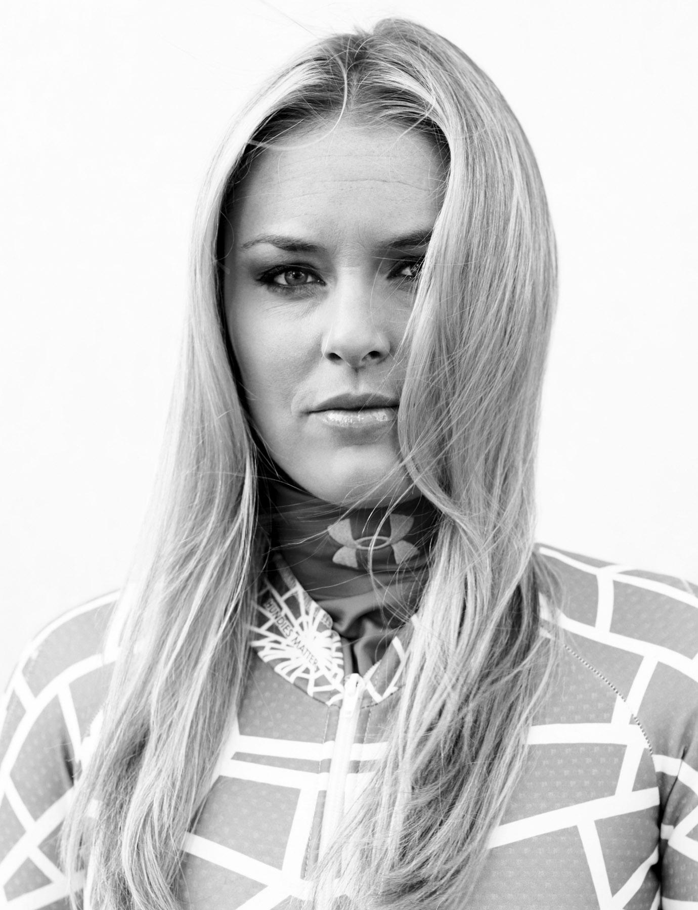 Red Bulletin, Lindsey Vonn – Sport – Christel Thoresen – Hair and Make-Up Artist