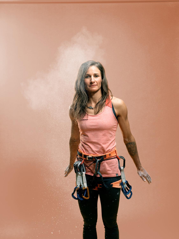 Red Bulletin, Nadine Wallner – Sport – Christel Thoresen, Hair and Make-Up Artist